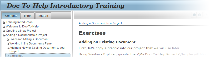 software for writing user manuals and training guides madcap doc